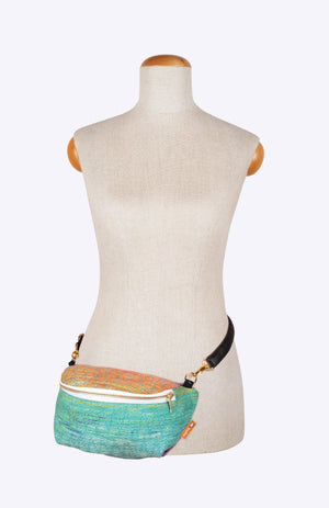 Oolaloom New Year Teal - Tula Wrap Conversion Hip Pouch
