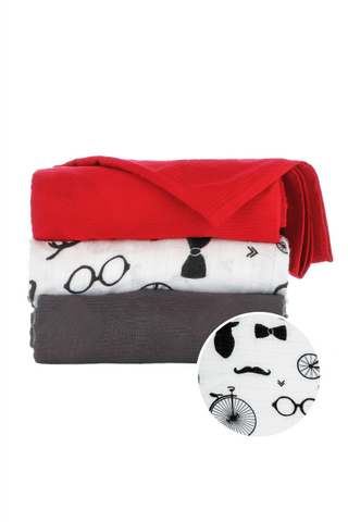 Hipster - Tula Baby Blanket Set