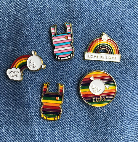 Tula Enamel Pride and Joy Pins Accessories