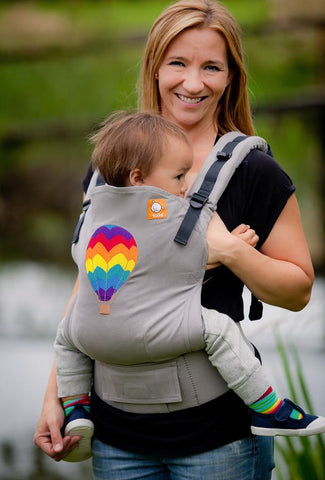 Ergonomic Baby Carrier Hot Air Balloon - Tula Baby Carrier - Baby Tula - 1