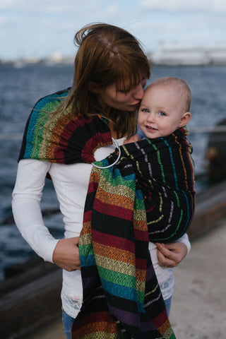 Imagine Dusk - Cotton Ring Sling Ring Sling | Baby Tula