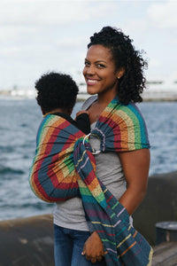 Imagine Midday - Wrap Conversion Ring Sling Ring Sling - Baby Tula