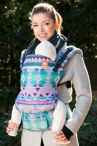 Full Standard WC Carrier - Kaleidoscope Eponine Wrap Conversion - Baby Tula