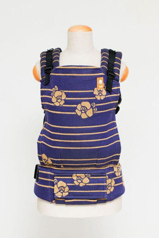 Half Toddler Wrap Conversion Carrier - Coco Royale