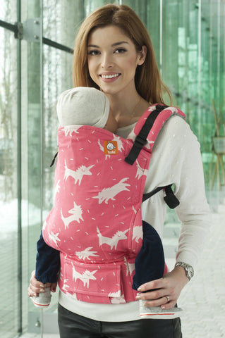 Half Standard WC Carrier - Falko Fruit Punch Wrap Conversion - Baby Tula