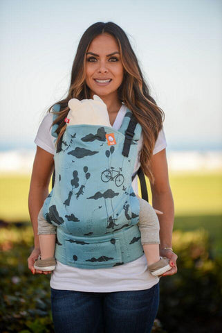 Full Toddler WC Carrier - Day Dreamer Moon Sway Wrap Conversion - Baby Tula