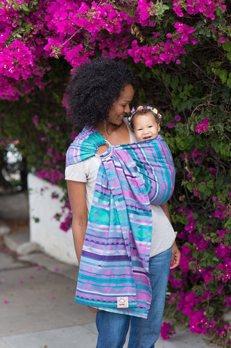 Kaleidoscope Laurel - Cotton Ring Sling