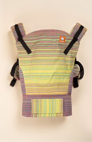 Lolly Wovens Tropicana Bianco - Tula Signature Baby Carrier Wrap Conversion