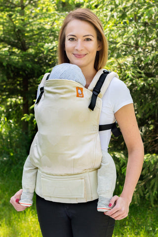 Full Standard WC Carrier - Love Blanc Wrap Conversion - Baby Tula