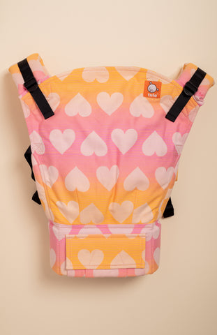 Tula Woven Love Peach Sorbet - Tula Signature Baby Carrier