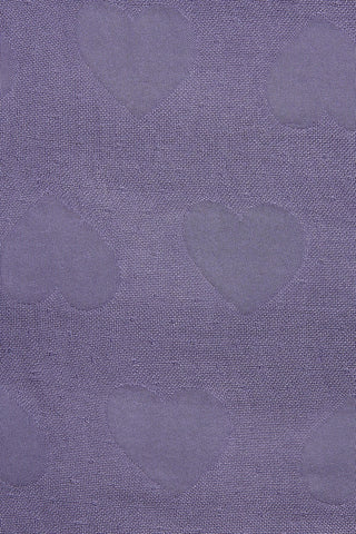 Hearts Grape - Tula Baby Blanket