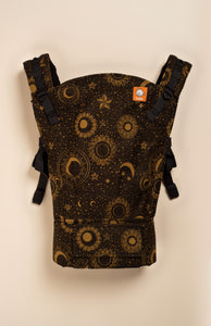 Luluna Night Night Golden Eclipse (with sparkles) - Tula Signature Baby Carrier