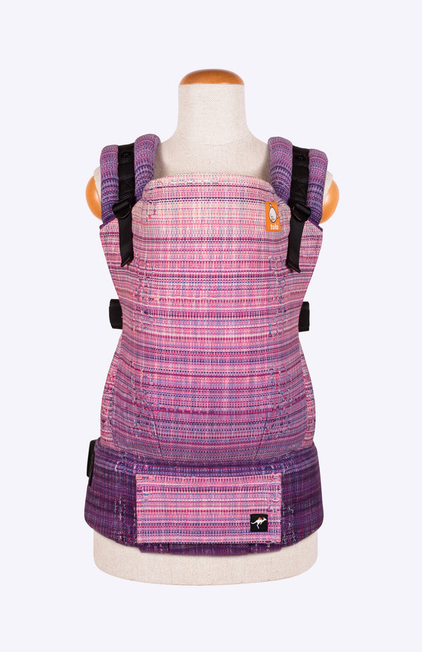 Luz Purple Canopy Hand Dyed - Tula Signature Baby Carrier