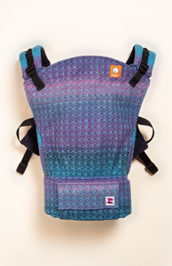 Mad Hatter Storybook Blue - Tula Signature Baby Carrier