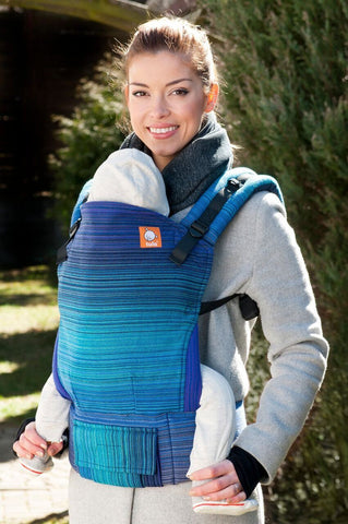 Half Standard WC Carrier - River Royal Weft Wrap Conversion - Baby Tula