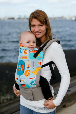 Message In A Bottle - Tula Baby Carrier Ergonomic Baby Carrier - Baby Tula