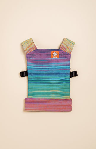 Girasol Goldie (azul pacifico weft) - Tula Signature Mini Doll Carrier