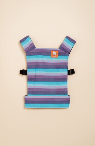 Girasol Light (azul pacifico weft) - Tula Signature Mini Doll Carrier
