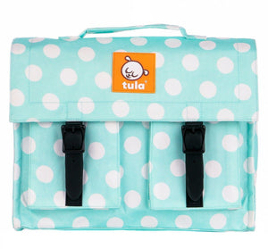 Mint Candy Dots - Tula Kids Backpack Backpack | Baby Tula