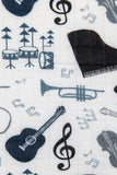 Music Lessons - Tula Baby Blanket
