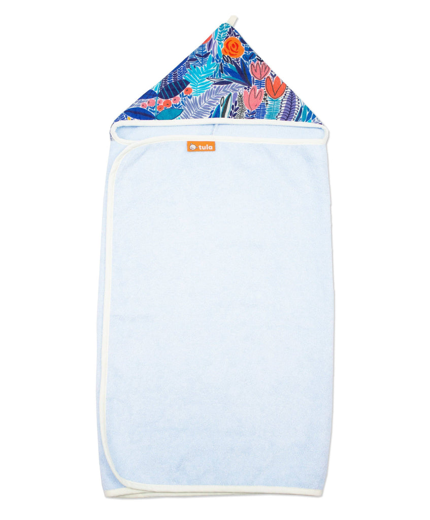 Baby Tula Ultra Cozy Mystic Meadow Kids Hooded Towel