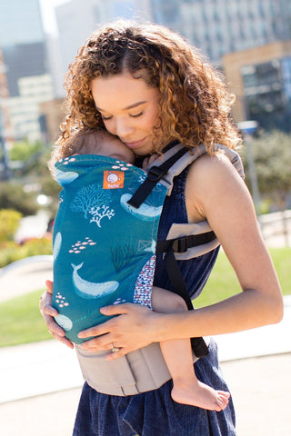 Narwhal - Tula Baby Carrier Ergonomic Baby Carrier - Baby Tula