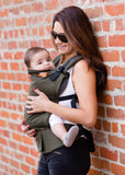 Ergonomic Baby Carrier Olive - Tula Baby Carrier - Baby Tula