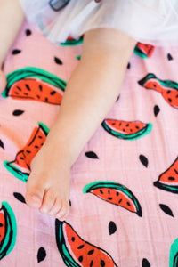 One in a Melon - Tula Baby Blanket