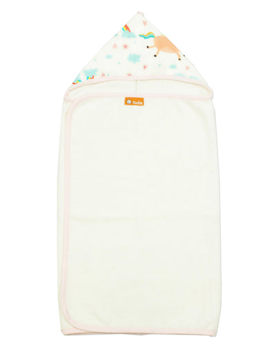 Over the Rainbow - Tula Hooded Towel Towel | Baby Tula