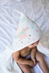 Over the Rainbow - Tula Hooded Towel