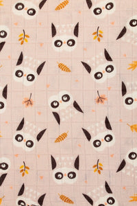 Owl We Need - Tula Baby Blanket