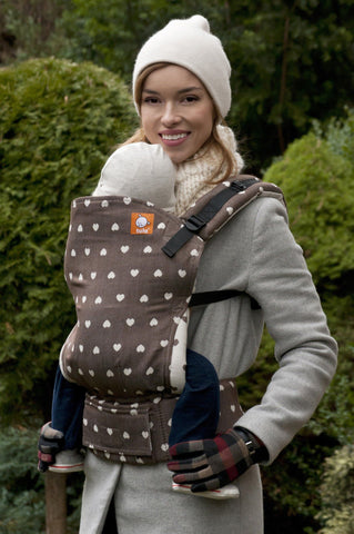 Full Standard WC Carrier - Petit Love Cacao Wrap Conversion - Baby Tula