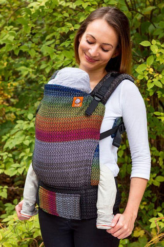 Half Standard Wrap Conversion Carrier - William Black Weft 2 Wrap Conversion - Baby Tula