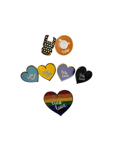 Tula Enamel Pins Accessories
