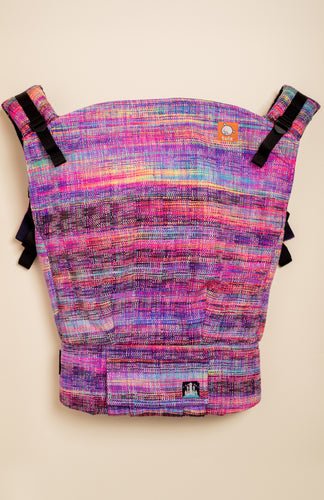 Alight Handwovens Lunar Fire (rainbow weft) - Tula Signature Preschool Carrier