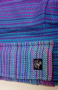 Apple Blossom Wovens + ChiciBeanz Handwoven Dreamer (royal weft/twill weave) - Tula Signature Preschool Carrier