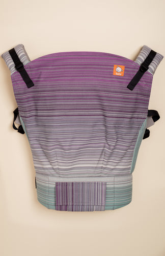 Butterfly Baby Cabana Under the Moon (grey weft) - Tula Signature Preschool Carrier