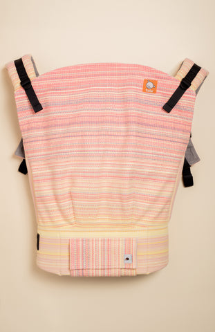 Erizo Wovens Once Upon a Dream (jaune pale weft) - Tula Signature Preschool Carrier