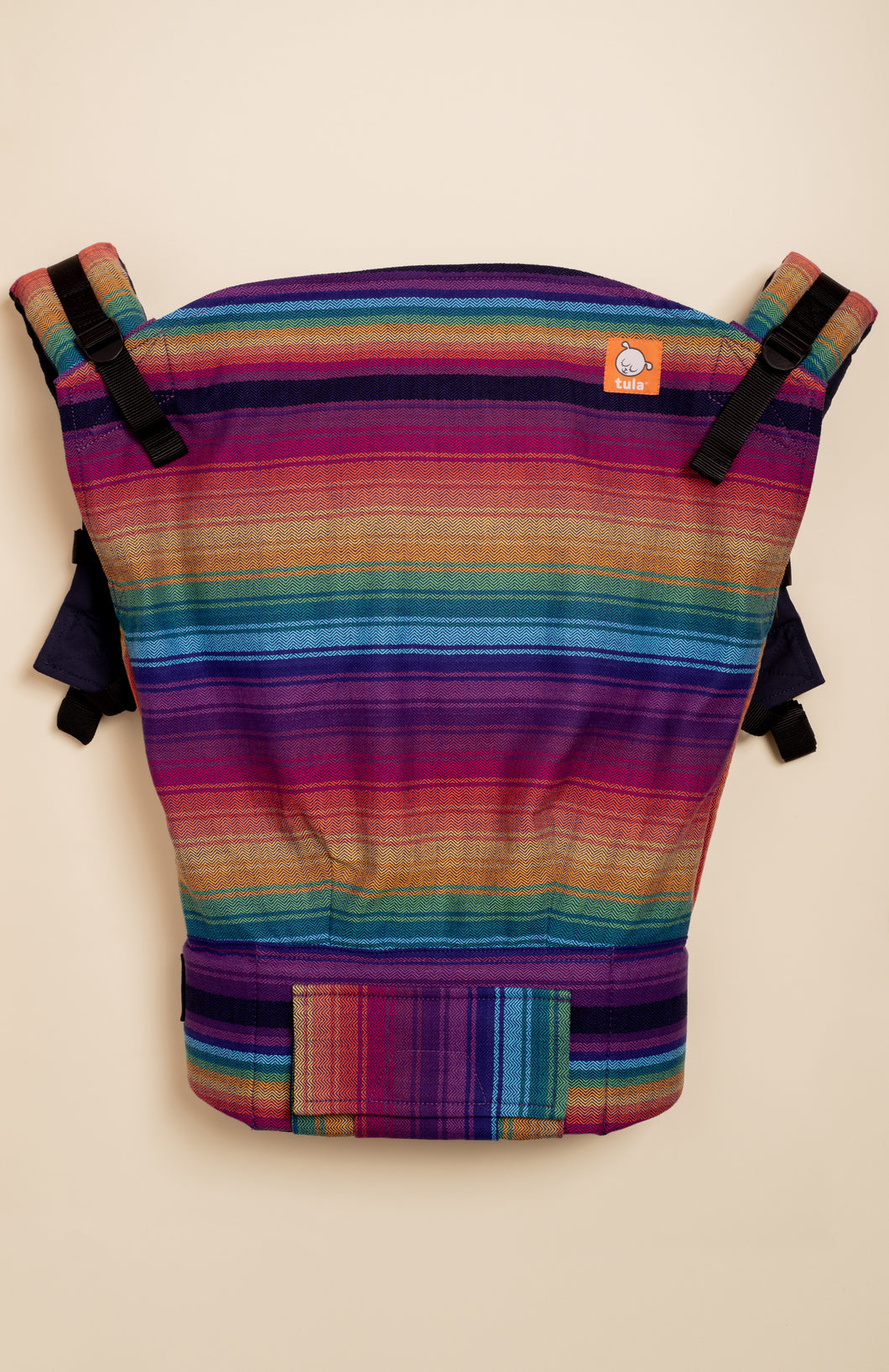 Girasol Rainbow Obsession (azul capitan weft) - Tula Signature Preschool Carrier