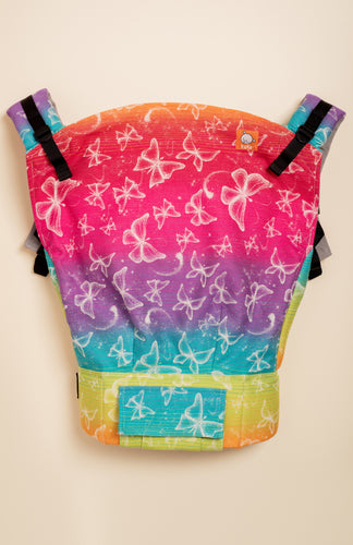 Lolly Wovens Butterfly Love of Rainbow - Tula Signature Preschool Carrier