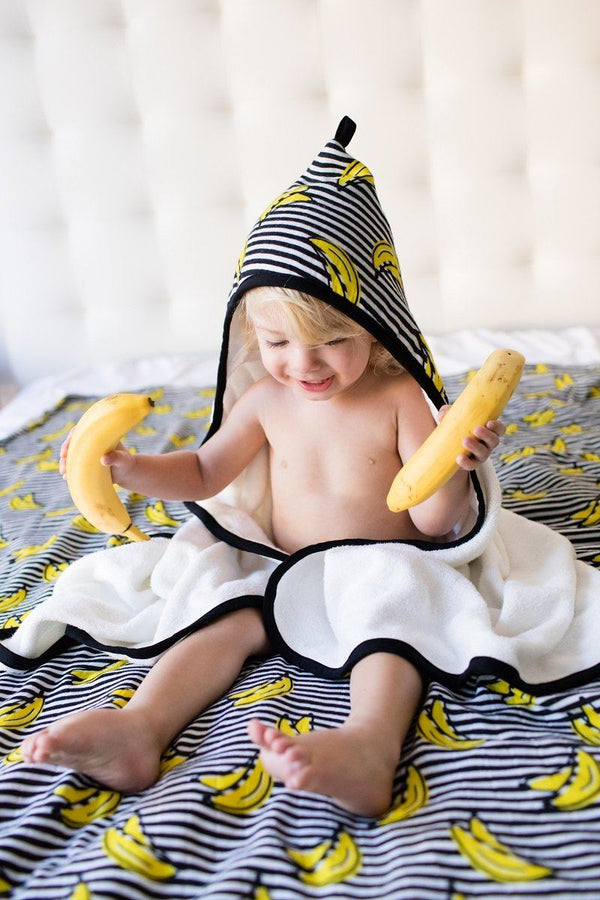 Bananas - Tula Hooded Towel