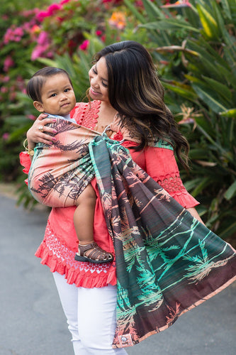 Seaside Miami - Tencel Blend Ring Sling Ring Sling | Baby Tula