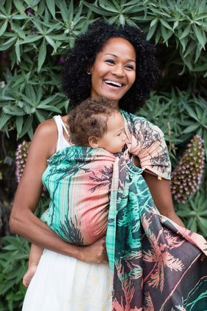 Seaside Miami - Wrap Conversion Ring Sling Ring Sling - Baby Tula