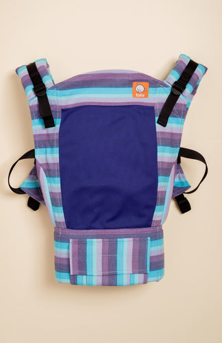 Coast Girasol Light (azul pacifico weft) - Tula Signature Baby Carrier