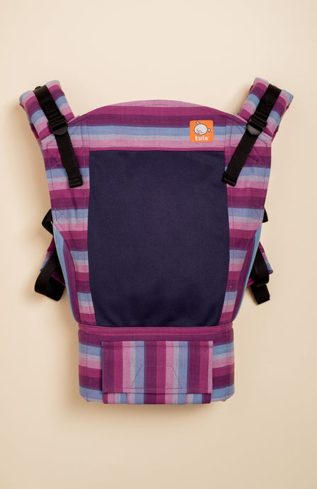 Coast Girasol Light (purpura llamativa weft) - Tula Signature Baby Carrier