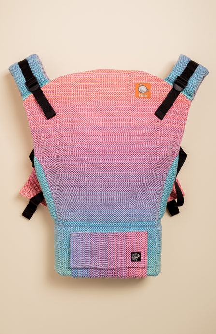 Apple Blossom Wovens x Chicibeanz Handwoven Sugar Reef - Tula Signature Baby Carrier