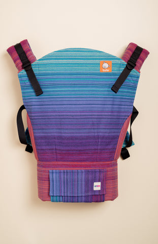 OobieBean&Dolly Phoebe (bleu weft) - Tula Signature Baby Carrier