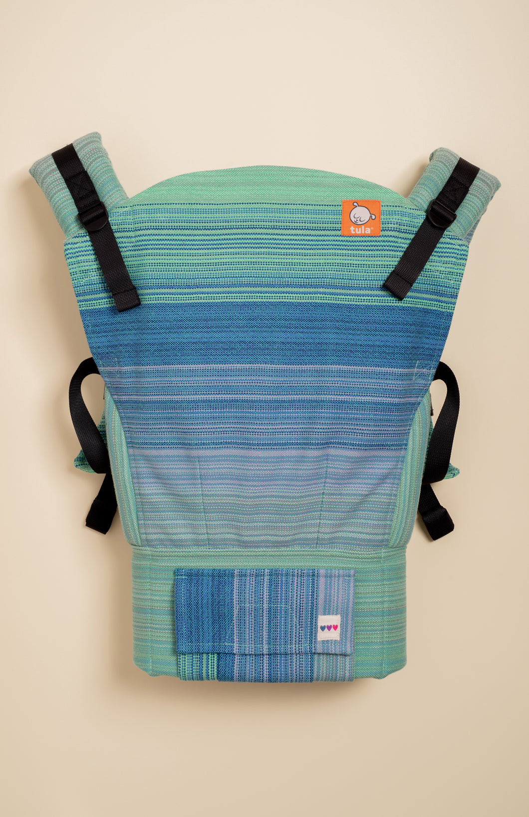 OobieBean&Dolly Sisu (turquoise weft) - Tula Signature Baby Carrier