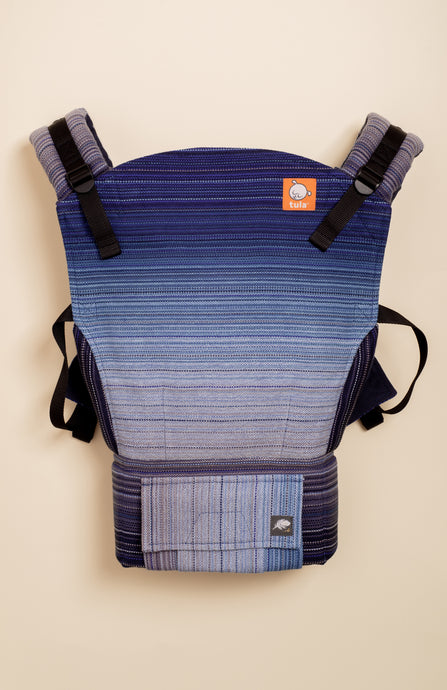 Beloved Handwoven Harbour (royal weft) - Tula Signature Baby Carrier