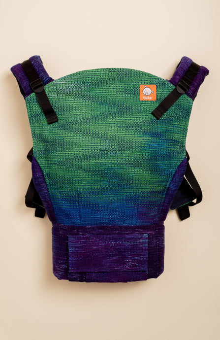 Handwoven Honey Guiding Light (navy blue weft) - Tula Signature Baby Carrier